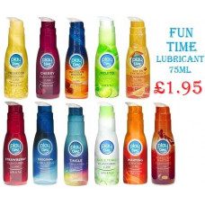 Fun time Prosecco Drink Flavoured Lube is a water based lube with great sensation and gentle lubrication 75ml